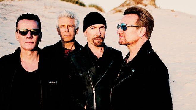 U2 performs June 16 at Papa John's Cardinal Stadium.