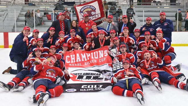 The Granite City Lumberjacks will hang an NA3HL Silver Cup championship banner and hand out championship rings during their season-opener against the Alexandria Blizzard. The junior hockey game begins at 7:30 p.m. Saturday at Sports Arena East.