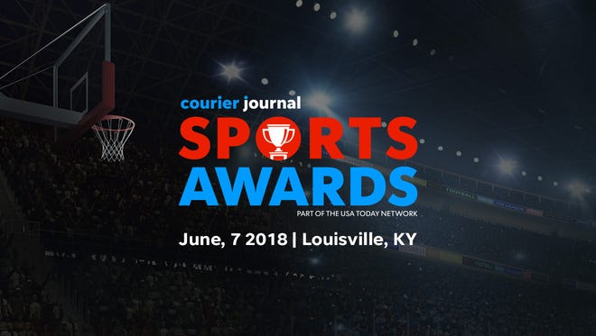 The Courier Journal Sports Awards will be held June 7 at the Louisville Palace.