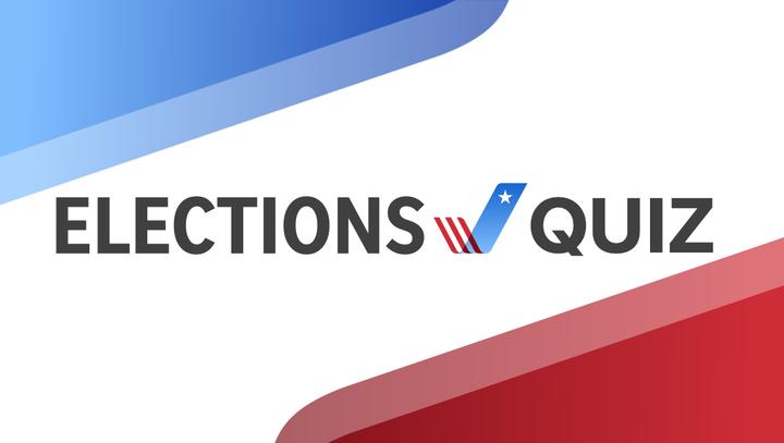 Elections quiz promo