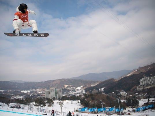 Olympics: Snowboard Halfpipe-Training