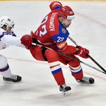 Roman Lyubimov opened some eyes at the World Championships. The Flyers inked him to a one-year contract Monday.