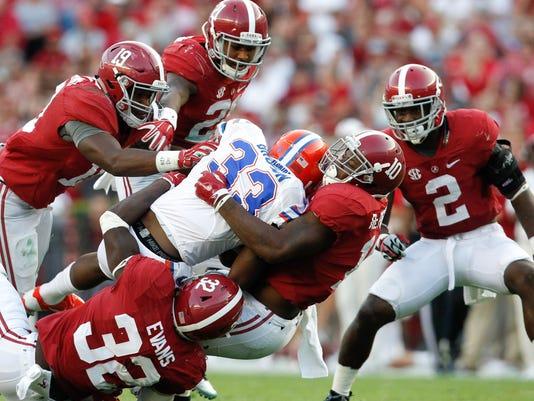 NCAA Football: Florida at Alabama