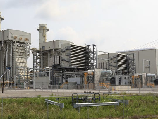 The LG&E and KU Energy Cane Run natural gas power plant.
