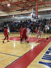 Action from Friday night's game pitting Binghamton against Owego.
