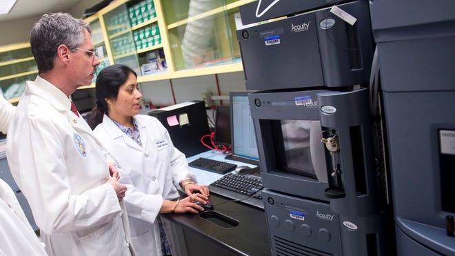 Howard Federoff and co-investigator Amrita Cheema, Georgetown University Medical Center.