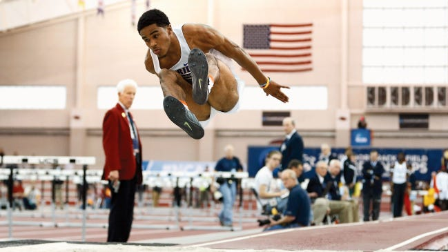 Florida jumper, and Burges graduate, KeAndre Bates will be competing in the long jump and triple jump at the NCAA Track and Field Championships on Wednesday.
