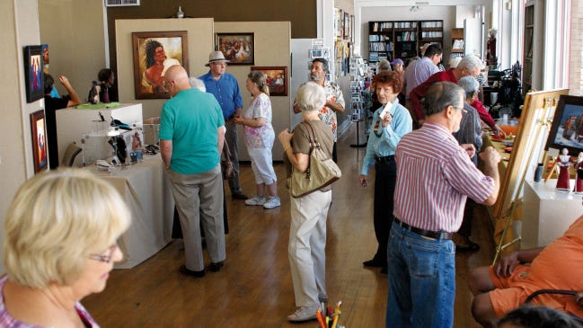 The Deming Art Council is hosting the Members Show through the month of October at the Deming Art Center, 100 S. Gold Street. The show will feature art work from its membership. Guests can expect an exhibit of diverse works by some talented local artists who are members of the DAC. An artists reception will be held from 1 to 3 p.m. on Sunday, Oct. 6 at the center.For more information about all of these events, please call 575-546-3663, check the website at https://www.demingarts.org or visitFacebook.