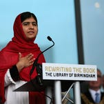 Malala Yousafzai opens the new Library of Birmingham in Birmingham, England, with an inspiring speech about the power of books.