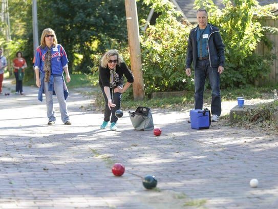 Linear Bocce returns to Broad Ripple on May 5.