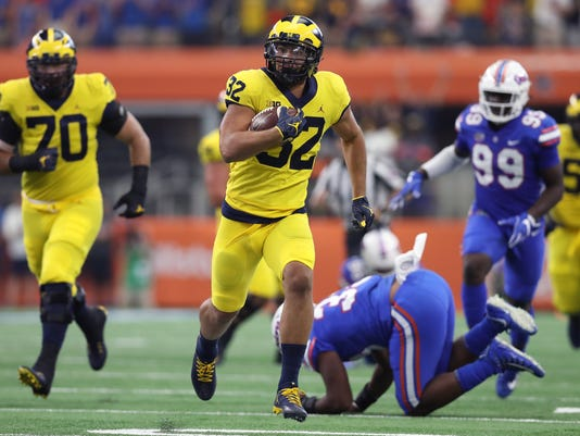 NCAA Football: Florida at Michigan