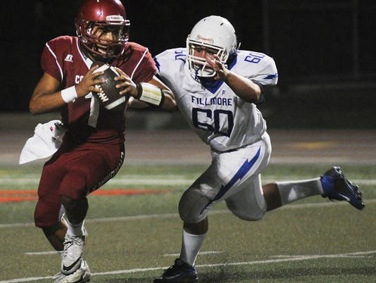 Santa Paula Fillmore football 1