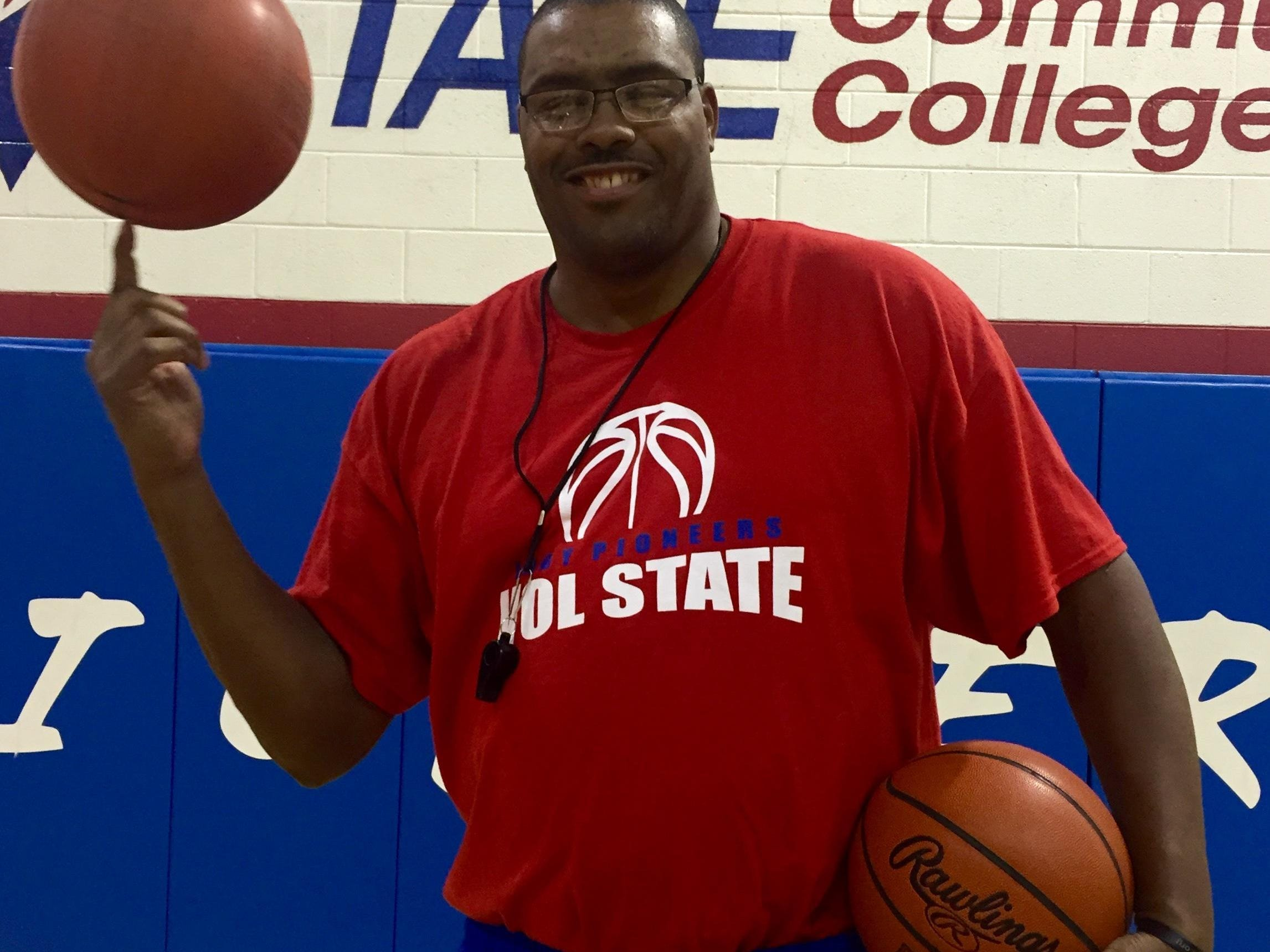 Otis Key is in his second year at Volunteer State after spending 10 years with the Globetrotters.