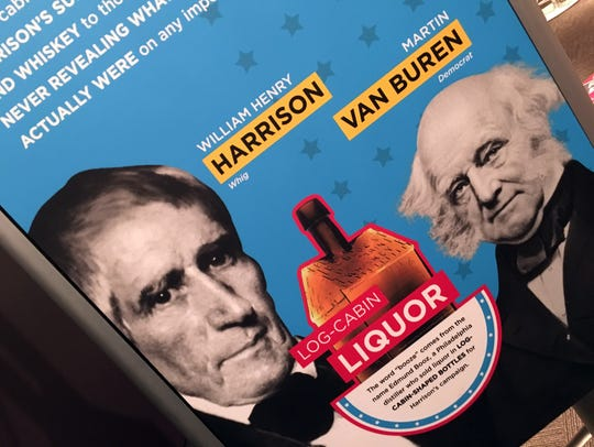 Trash talk and free liquor helped William Henry Harrison
