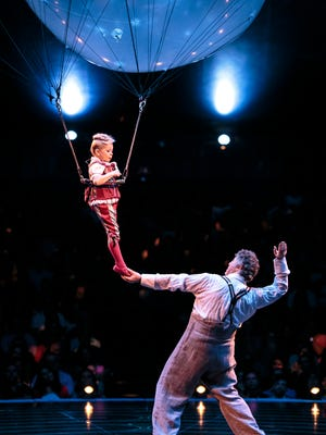 """Cirque du Soleil's production of """"Corteo"""" comes to the BMO Harris Bradley Center for six shows March 29 to April 1."""
