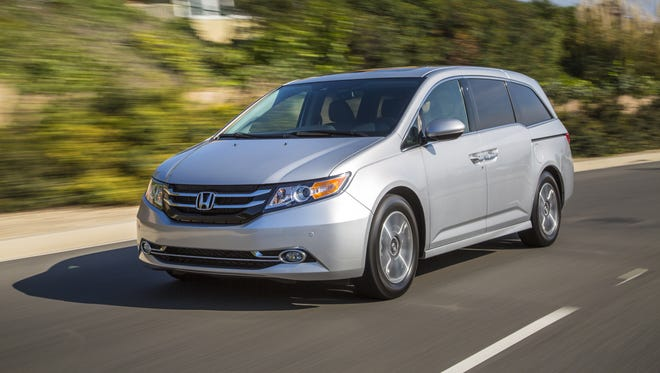 With parenting comes great responsibility. The 2014 Honda Odyssey handles it in style.