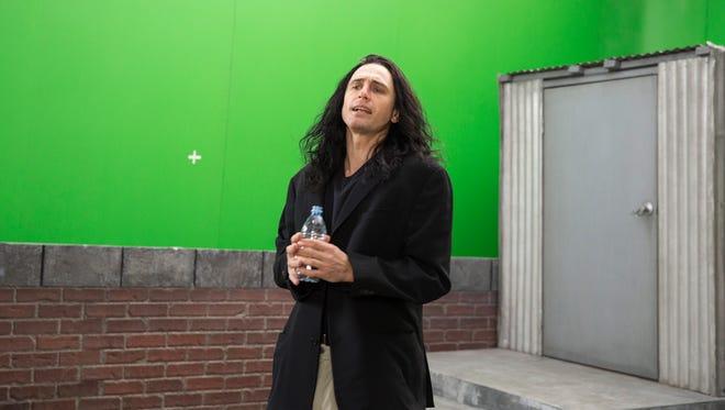 "James Franco plays hapless filmmaker Tommy Wiseau in ""The Disaster Artist."""