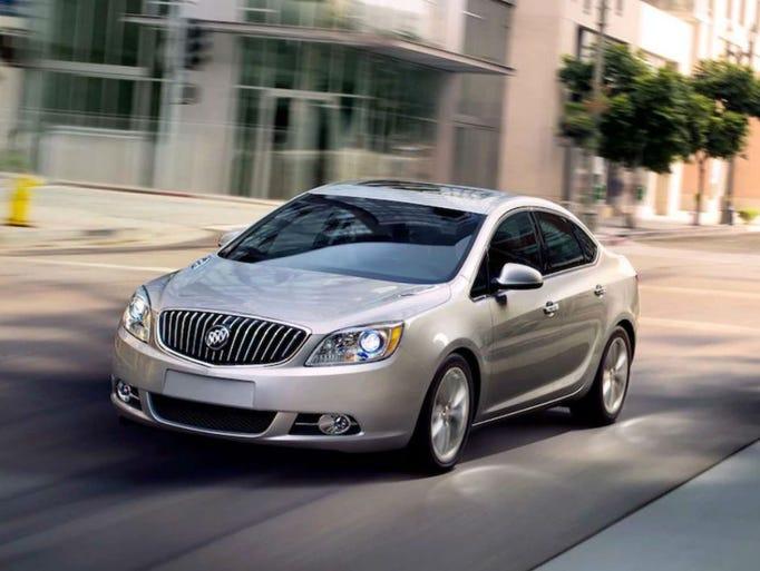 Buick VeranoAvg. days on lot: 223.62017 sales: 4,277