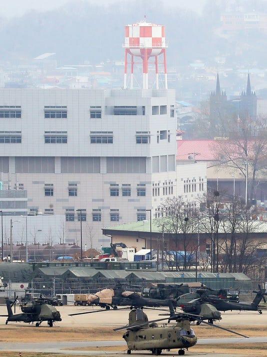 EPA SOUTH KOREA USA DEFENSE POL DEFENCE KOR