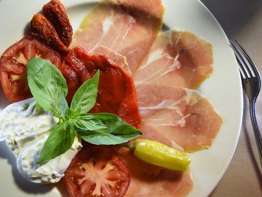 Photo of  a dish of Antipasto at Nanni Ristorante in