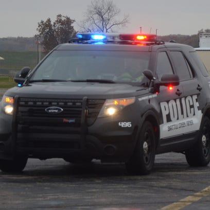 Battle Creek police car