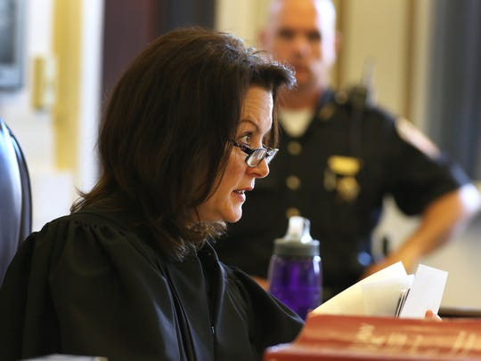 Hamilton County Common Pleas Judge Leslie Ghiz is the