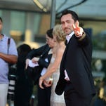 "Demian Bichir arrives at the premiere screening of ""The Bridge"" at the DGA Theatre on Monday, July 8, 2013 in Los Angeles."