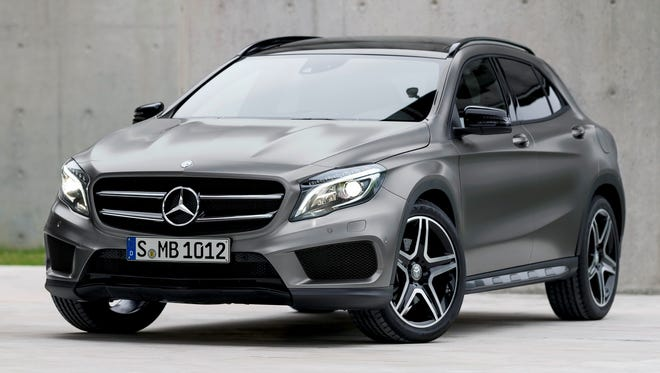 2015 Mercedes-Benz GLA-Class.