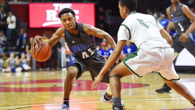 Ja'Quaye James helped lead Teaneck to a state title last season.
