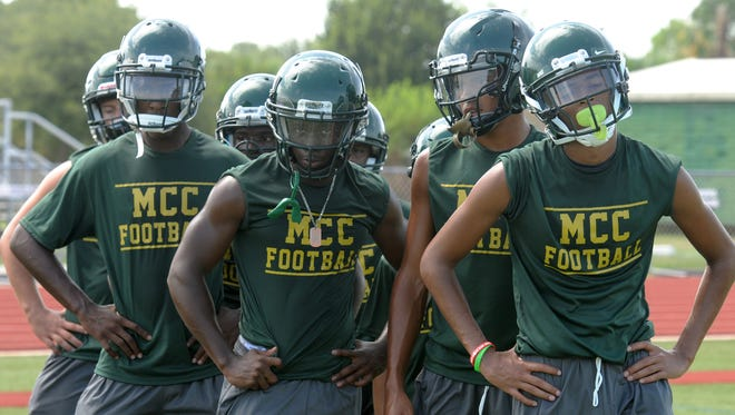 Melbourne Central Catholic hosted St. Petersburg Northside on Friday night in Melbourne.