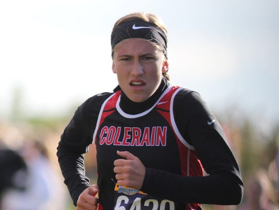 Colerain's Madelynn Frey finished seventh.