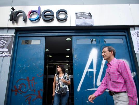 AP Argentina Economy