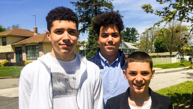 The Vineland teens,  Nichael Villanueva, 16, Chris Diaz, 16, and  Fabian Villanueva, 14, will be honored by City Council Tuesday. They found an envelope containing more than $17,000 in cash and checks and turned it into Vineland Police.