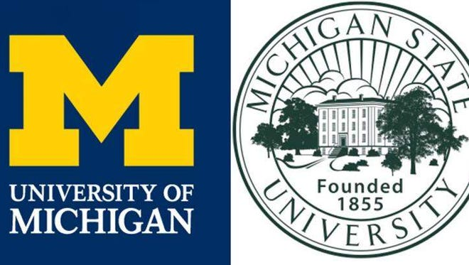University of Michigan and Michigan State University performed well in Washington Monthly's rankings of colleges and universities that do good for society.