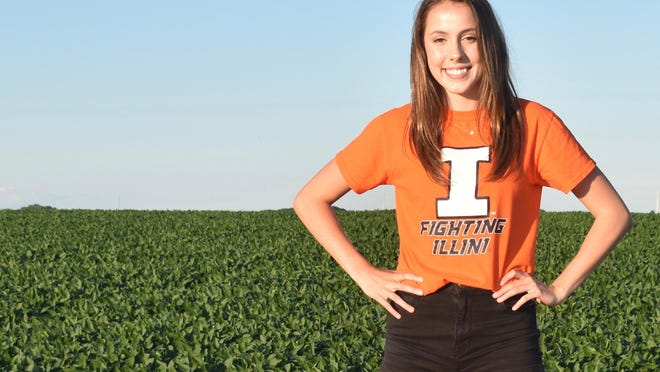 Breena Shreeves, a recent Knoxville High School grad, will continue her running career at the University of Illinois.