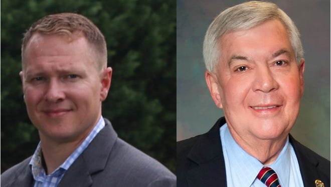 Challenger Will Lewis will face incumbent Steve Loftis in the June 28 runoff.