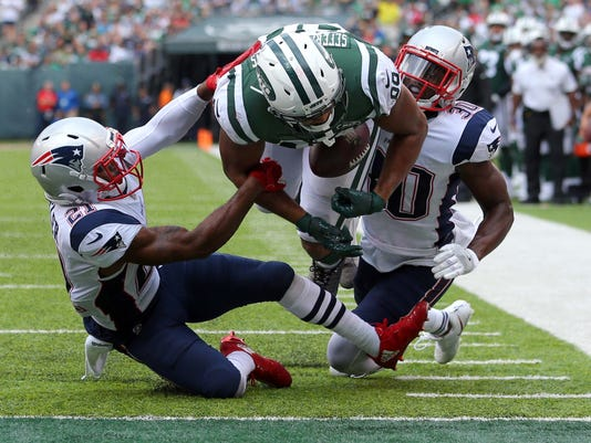 USP NFL: NEW ENGLAND PATRIOTS AT NEW YORK JETS S FBN NYJ NEP USA NJ