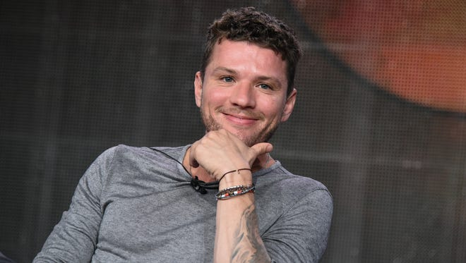 "Ryan Phillippe speaks during the ""Secrets And Lies"" panel at the Disney/ABC Television Group 2015 Winter TCA last month in Pasadena, Calif."