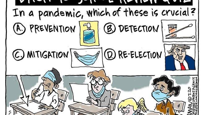 Cartoon by Dan Wasserman