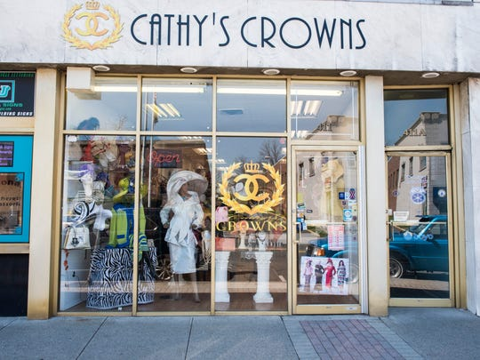 The exterior of Cathy's Crowns in Linden.