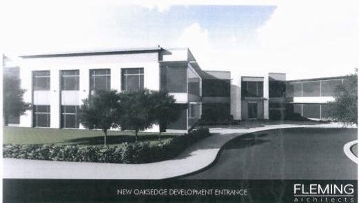 An additional 60,000 square feet of office space is proposed for Oaksedge Office Campus on Cherry Road in East Memphis.