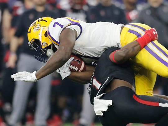 LSU's Leonard Fournette figures to contend for the