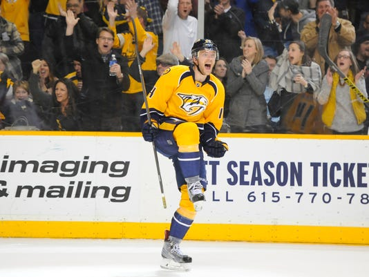 NHL: Washington Capitals at Nashville Predators