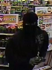 El Paso Police are asking for the public's help in identifying a serial burglary suspect who rushes into the store, jumps over the counter and forces open the cash register.