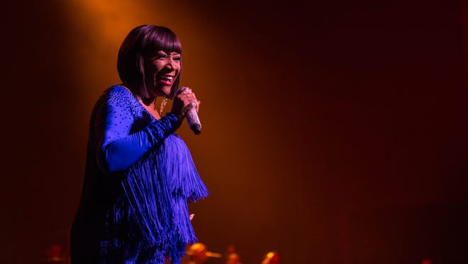 Patti LaBelle performs at the Riverside Theater January 2016.