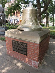 The historic Market House Bell, which hung in City
