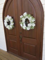 Chapel's classic wooden doors have long looked out