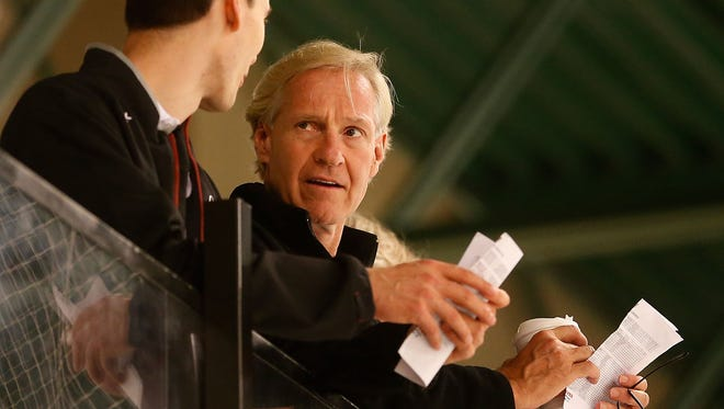 Former Coyotes General Manager Don Maloney.