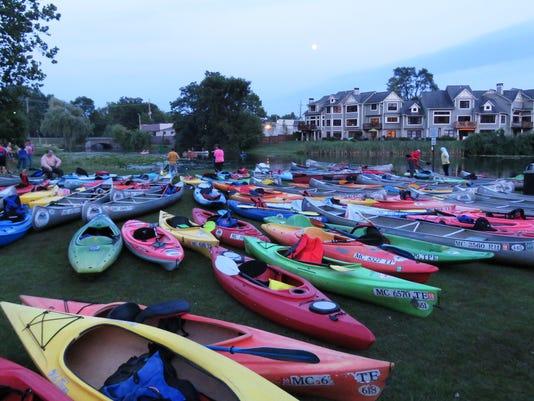 MTO canoe launch #2