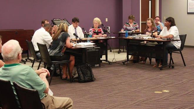 The Milan Special School District Board meets to discuss hiring an interim director at a called meeting Tuesday.